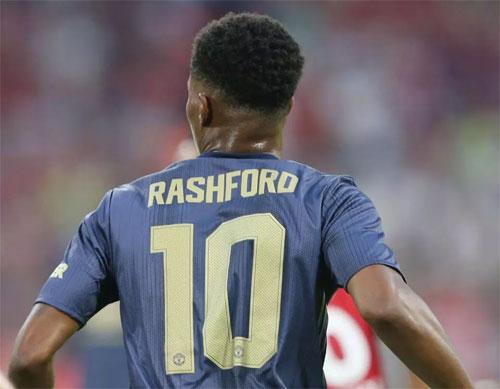 Rashford đang thực sự được đánh giá cao tại Man Utd. Ảnh: Reuters