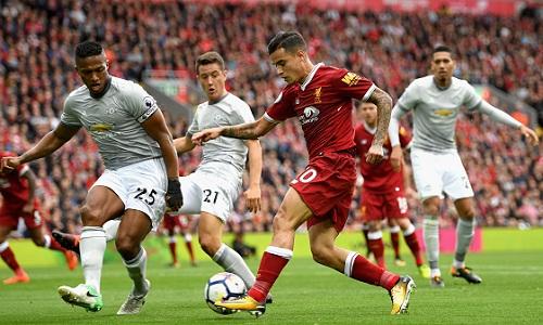 Nghiên cứu cho rằng Liverpool đáng được hưởng phạt đền và thắng 1-0 thay vì hòa 0-0 với Man Utd hồi tháng 10 năm ngoái. Ảnh: Reuters.