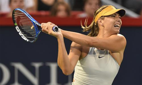 Sharapova hy vọnggiành chức vô địch Rogers Cup đầu tiên. Ảnh: WTA.
