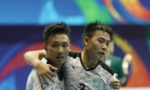 Thái Sơn Nam quật ngã đội bóng Nhật Bản, vào bán kết futsal châu Á