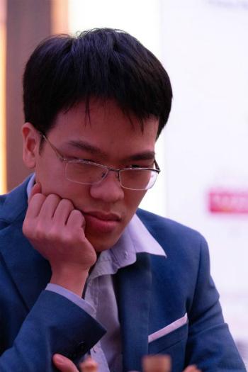 Quang Liêm có chiến thắng đầu tay sau cú bước hụt ở vòng một. Ảnh: Adcf.