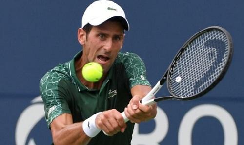 Djokovic bị cắt chuỗi 9 trận thắng liên tiếp kéo dài từ Wimbledon. Ảnh: Reuters.