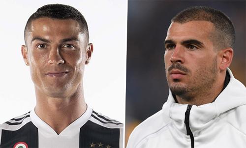 Sturaro (phải) đến Sporting một phần nhờ Ronaldo.