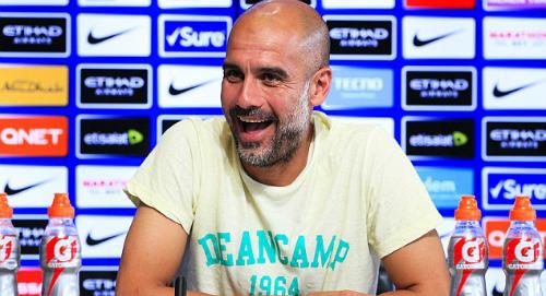 HLV Guardiola tự tin trước thềm mùa giải mới. Ảnh:Man City.