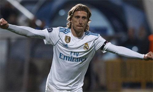 Modric thành công trong nỗ lực nâng cao mức lương. Ảnh: Reuters