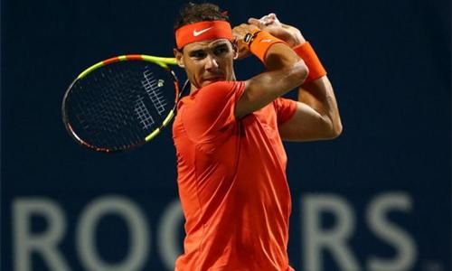 Nadal đứng trước cơ hội giành danh hiệu Masters 1000 thứ 33 qua đókhẳng định vị thế số một của anh ở hệ thống giải này. Ảnh: AP.
