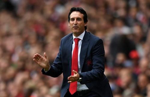 Emery đã thất bại trong trận ra mắt Ngoại hạng Anh. Ảnh: PA.