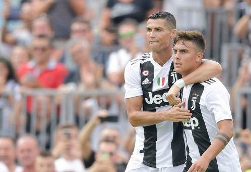 Ronaldo chứng tỏ sức hút đặc biệt tại Juventus. Ảnh:AFP.