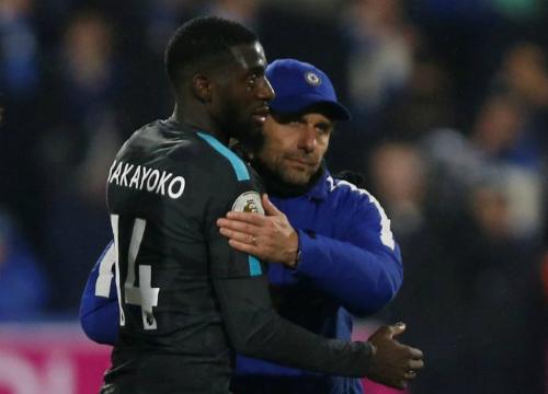 Bakayoko là cầu thủ Conte đích thân đưa về nhưng cả hai phải cùng rời Chelsea sau mùa giải thất vọng. Ảnh: Reuters.