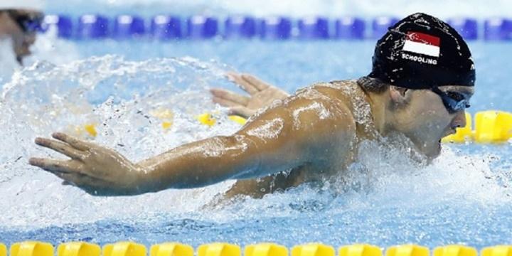 Schooling tranh tài ở Olympic Rio 2016. Ảnh: Reuters.