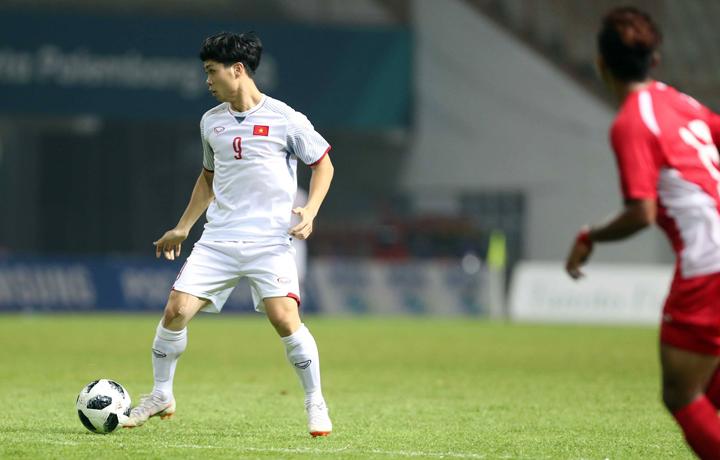 Công Phượng chơi khoảng gần 20 phút trong trận Việt Nam thắng Nepal 2-0 tối 16/8, anh không có được bàn thắng nào cho riêng mình.