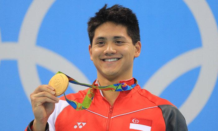 Schooling là niềm hy vọng lớn của thể thao Singapore. Ảnh: Reuters