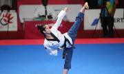 Cô gái vàng của taekwondo Việt Nam gặp sự cố ngày ra quân Asiad