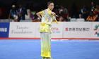 Dương Thuý Vi xếp thứ hai nội dung kiếm thuật nữ