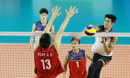 Việt Nam hạ Trung Quốc ở môn bóng chuyền nam
