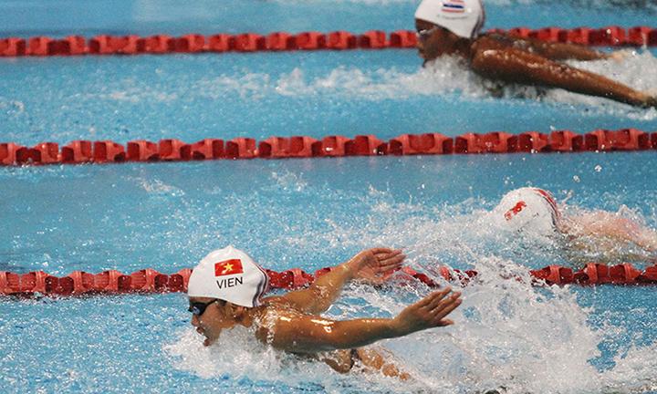 Ánh Viên là hy vọng lớn nhất của đội tuyển bơi Việt Nam tại Asiad 2018. Ảnh: Lâm Thoả.