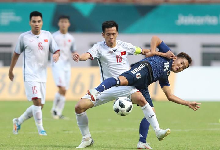 Chiến thắng trước Nhật Bản góp phần khiến truyền thông quốc tế đánh giá Việt Nam là ứng viên cho tấm HC vàng Asiad 2018. Ảnh: Đức Đồng.