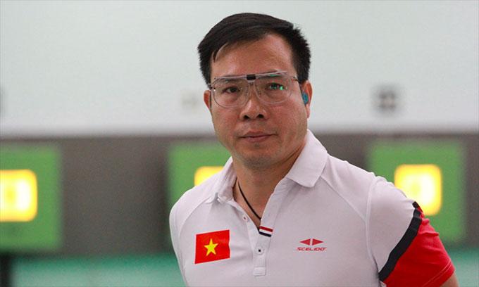 Xuân Vinh được chờ đợi sẽ giúp đoàn Việt Nam có đột biến về thành tích tại Asiad 2018, nhưng phải dừng bước ngay sau vòng loại nội dung thế mạnh. Ảnh: Xuân Bình.