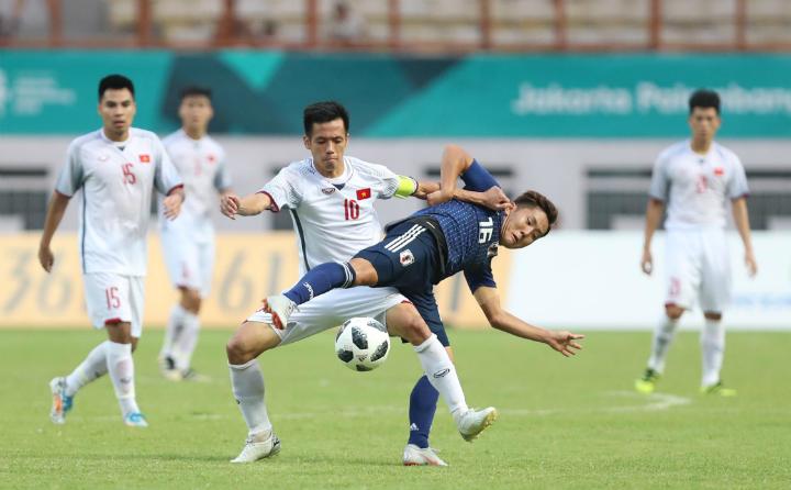 Việt Nam giành chiến thắng trước Nhật Bản ngay cả khi đã giành vé đi tiếp. Ảnh: Đức Đồng.