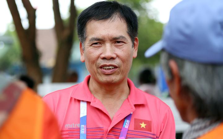 Ông Trần Đức Phấn, trưởng đoàn Thể thao Việt Nam tại Asiad 2018. Ảnh: Đức Đồng.