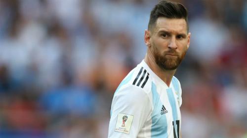 Messi thi đấu tại World Cup 2018. Ảnh:AFP.