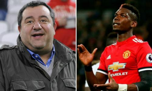 """""""Siêu cò"""" Raiola thách Man Utd bán Pogba ngay lập tức"""