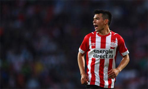Lozano đã có 22 bàn và tám đường chuyền dọn cỗ trong 38 trận chơi cho PSV. Ảnh: Reuters