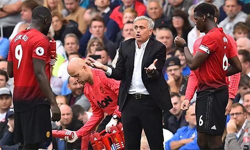 Man Utd gặt hái thành công về mặt tài chính, bất chấp việc đội bóng đang có dấu hiệu khủng hoảng với thất bại trên sân Brighton hôm 19/8 và căng thẳng trong nội bộ. Ảnh: AFP.