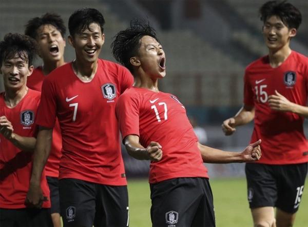 Hàn Quốc chứng tỏ sức mạnh với sự tỏa sáng của những cá nhân ở những thời điểm quan trọng. Ảnh: Yonhap.