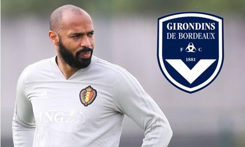 Henry bắt đầu sự nghiệp mới ở quê nhà Pháp. Ảnh:AFP.