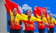 Rowing giúp Việt Nam có HC vàng đầu tiên tại Asiad 2018