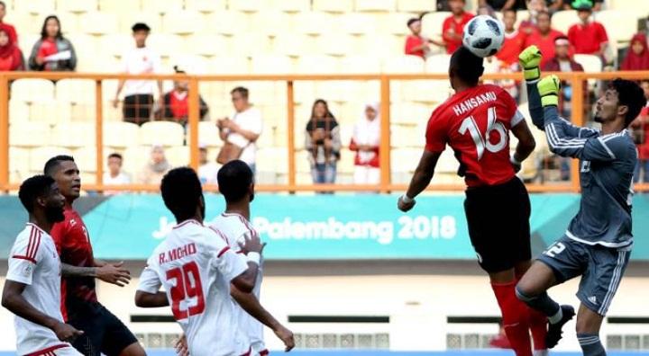 Indonesia tỏ ra thiếu kinh nghiệm hơn đối thủ đến từ Tây Á. Ảnh: Asianfootball.