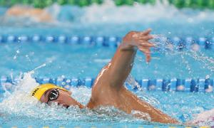 Huy Hoàng giành HC bạc đầu tiên cho bơi Việt Nam ở Asiad