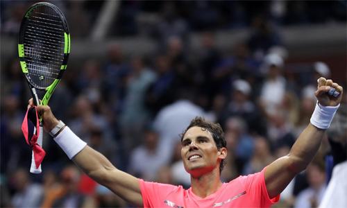 Nadal rơi vào nhánh đấu thuận lợi trong hành trình bảo vệ ngôi vương tại Mỹ Mở rộng. Ảnh: US Open.