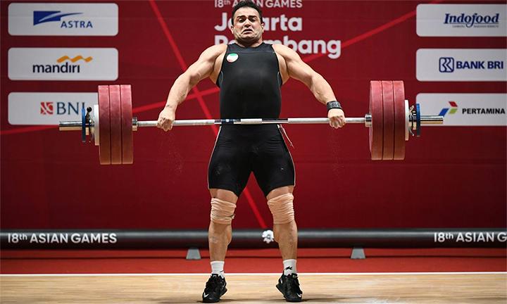VĐV Iran phá kỷ lục thế giới tồn tại lâu nhất trong môn cử tạ