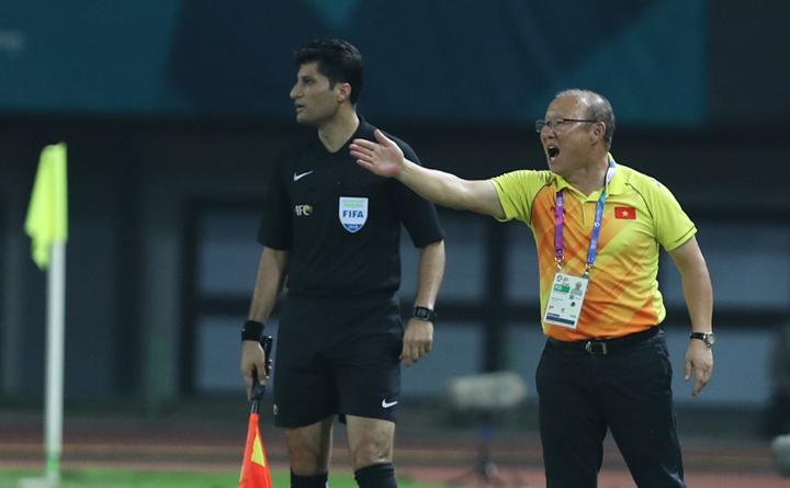 HLV Park Hang Seo một lần nữa giúp bóng đá Việt Nam thăng hoa. Ảnh:Đức Đồng.