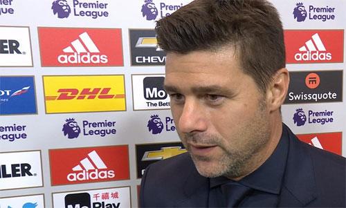 Tottenham của Pochettino đang dẫn đầu Ngoại hạng Anh cùng Liverpool và Chelsea. Ảnh: BBC