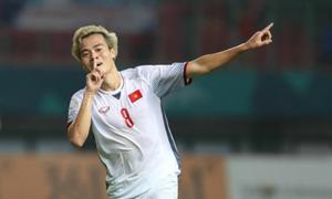 Văn Toàn: 'Đã vào bán kết thì việc gì phải sợ Hàn Quốc'