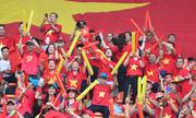 CĐV Việt Nam áp đảo Hàn Quốc trên khán đài sân Pakansari