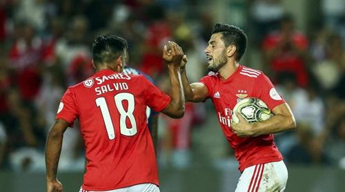 Benfica thắng ngược PAOK với tỷ số chung cuộc 5-2. Ảnh: Reuters.