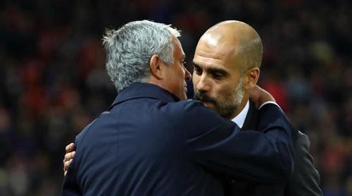 Guardiola vẫn đánh giá cao Man Utd của Mourinho. Ảnh: Reuters.