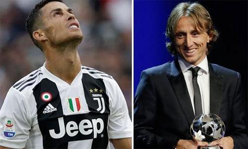 Ronaldo và Modric vốn là đồng đội ăn ý tại Real.