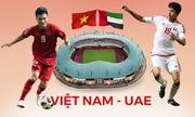 Tương quan lực lượng Việt Nam - UAE