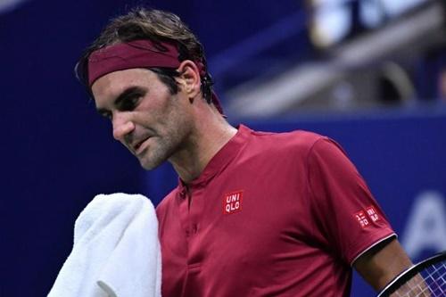 Federer không thể hoàn thành mục tiêu vô địch Mỹ Mở rộng. Ảnh: Reuters.