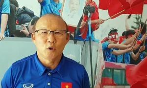 HLV Park Hang-seo chia sẻ trên báo Hàn Quốc về thành công ở Asiad