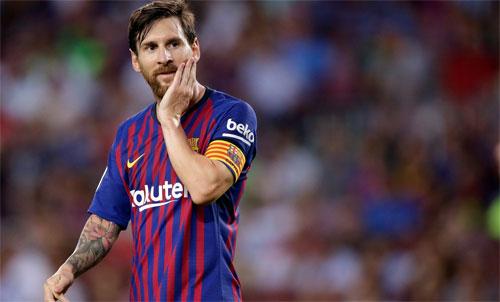Messi không còn ở trong nhóm tranh giải cá nhân. Ảnh: Reuters