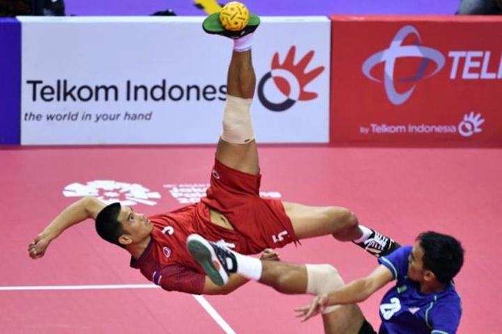 Cầu mây là mỏ vàng huy chương của Thái Lan ở Asiad 2018. Ảnh: Bangkok Post,