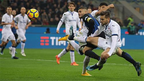 Icardi thắng tiến chóng mặt trong màu áo Inter, nơi anh được tin cậy trao phó trọng trách ghi bàn.