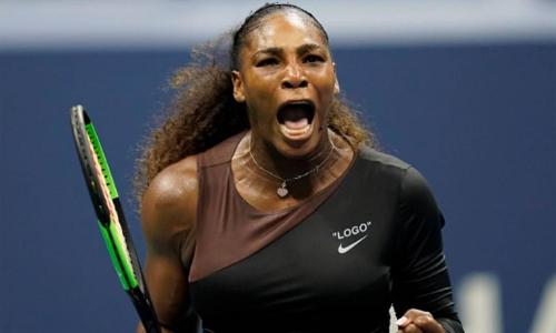 Serena hướng đến danh hiệu Grand Slam đầu tiên sau khi sinh con. Ảnh: USA Today.