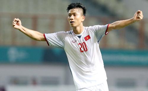 Văn Đức thể hiện được phong độ tốt ở CLB lẫn trên đội tuyển Olympic Việt Nam. Ảnh: Đức Đồng.